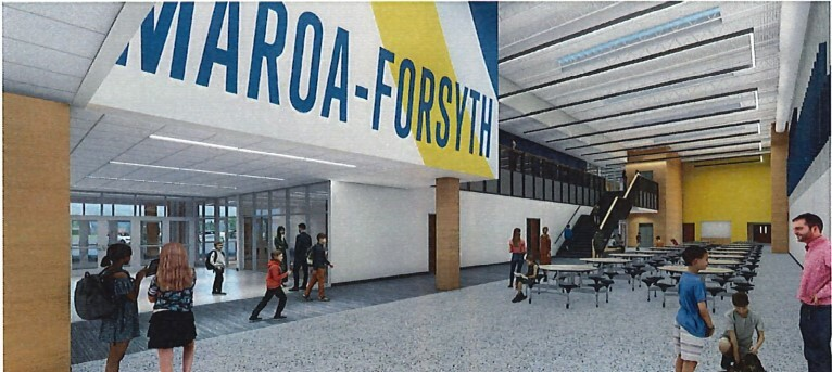 Maroa Middle School renovation image