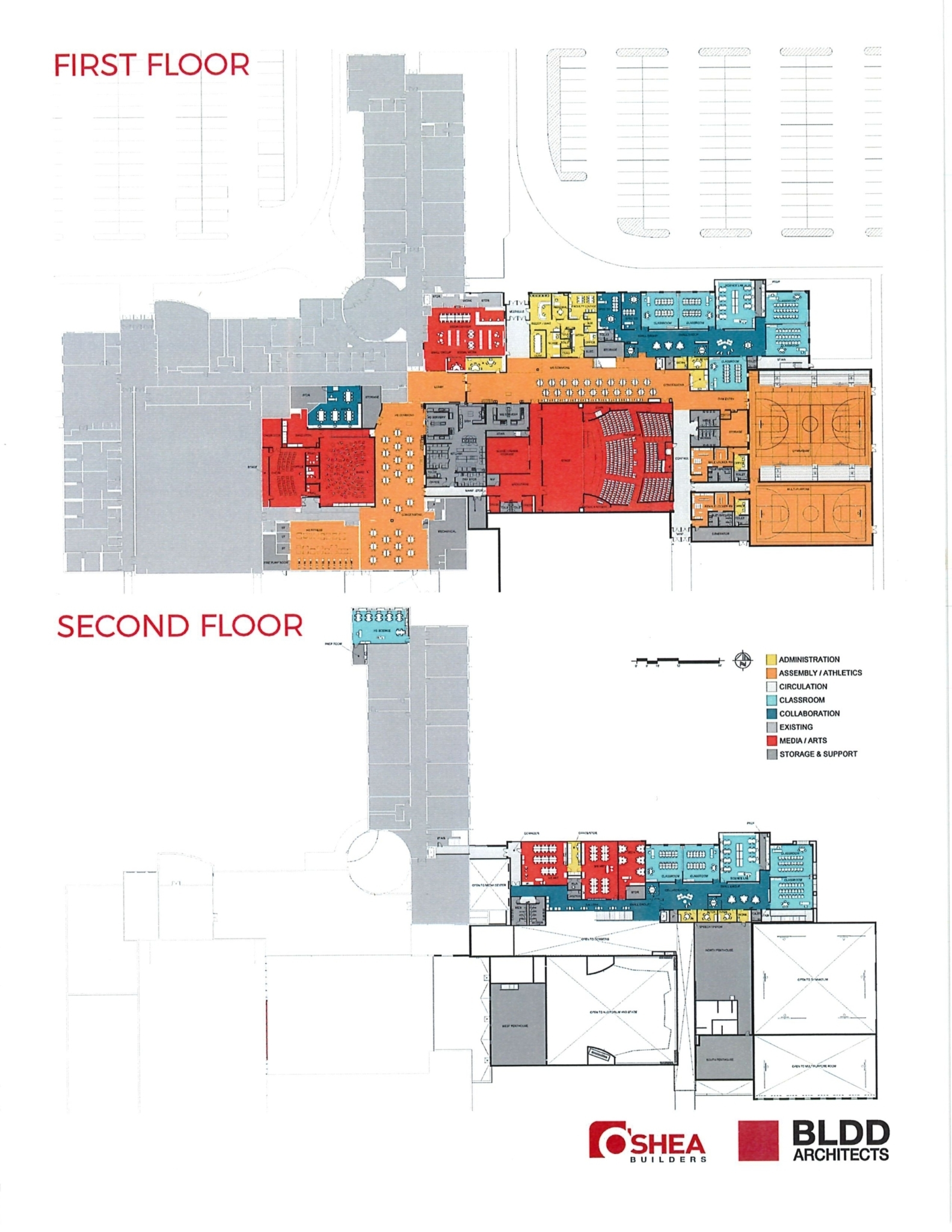 Maroa Middle School Renovation Schematic