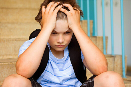 Maroa forsyth stressed child