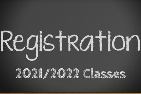 Registration 2021 2022