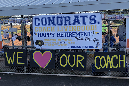 Livingood Softball Retirement