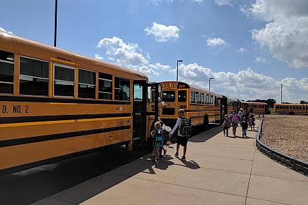 Maroa-Forsyth School Buses