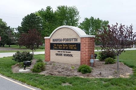 Grade School Sign