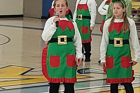 Elf sing
