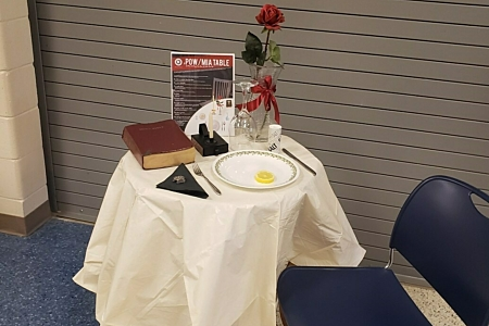 Veterans table
