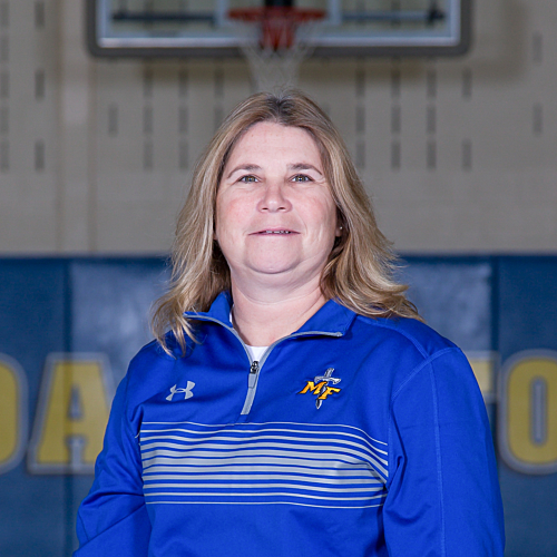 Girls Basketball Coach Selina Finck