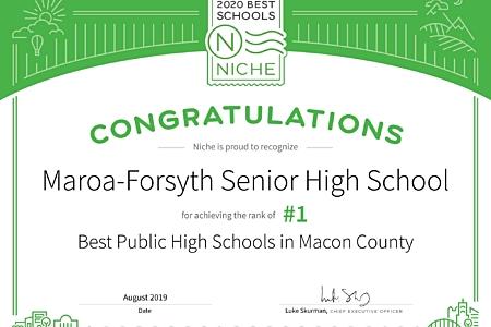Niche schools best in macon county