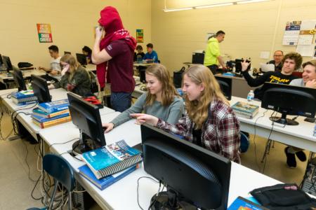 Computer Lab - Maroa-Forsyth High School