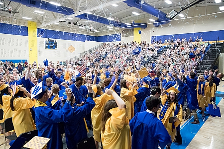 Graduation - Maroa-Forsyth High School