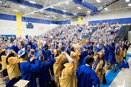 Graduation - Maroa-Forsyth High School