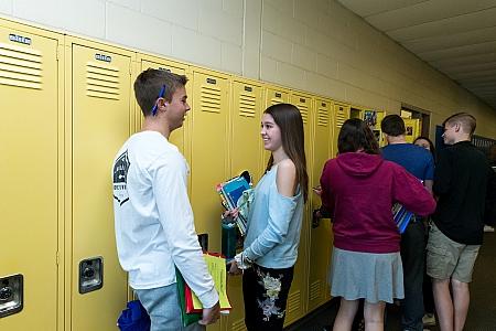 Hallway - Maroa-Forsyth High School