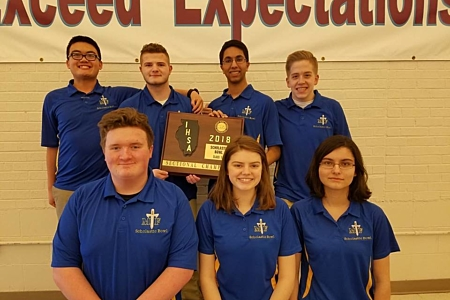 Scholastic Bowl Sectionals - Maroa-Forsyth High School