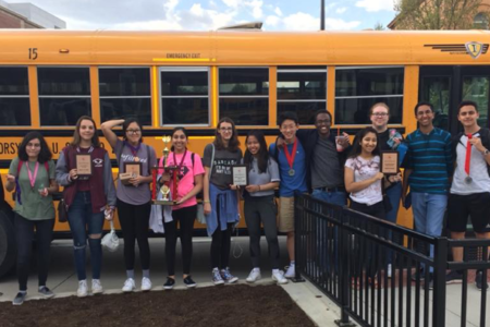 Maroa-Forsyth proudly received fifth place in the state competition with a score of 427 at state in 2018.