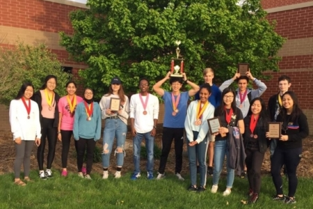 MFHS Math team earned 8th place in the ICTM State Math Contest in May 2019.