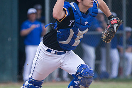 Baseball Catcher - Maroa-Forsyth High School