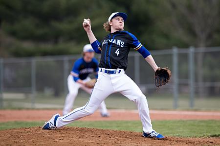 Baseball Pitcher - Maroa-Forsyth High School