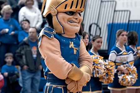 Cheerleading Mascot - Maroa-Forsyth High School