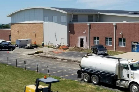 Middle school construction 1