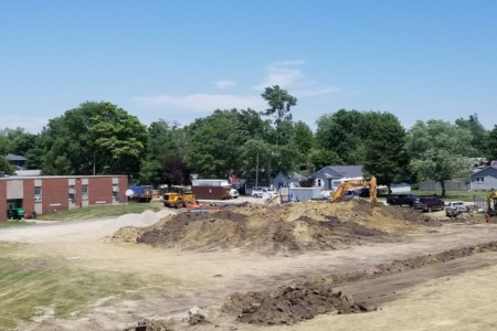 Middle school construction 3