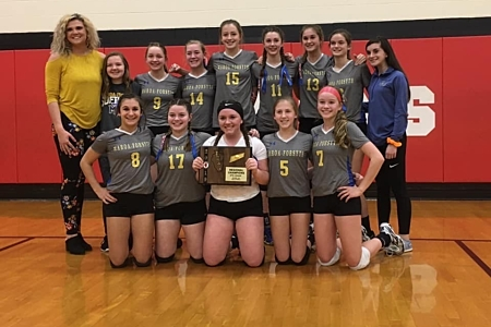 8th Grade Regional Volleyball Champs