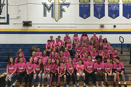 MFMS supporting Real Men Wear Pink