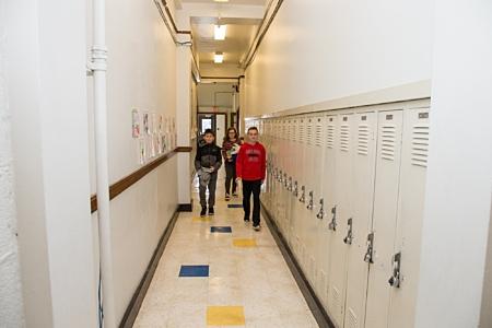 Middle School Lockers