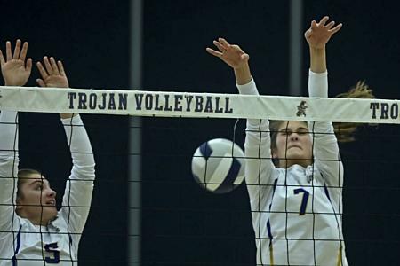 Trojan volleyball