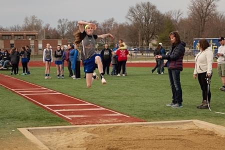 Girl 2 Long Jump