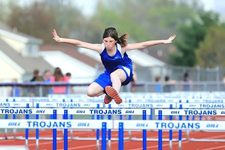 Girls' Track - Maroa-Forsyth Middle School